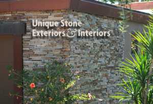 Unique Stone Exterior & Interior