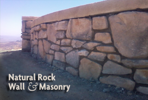 Natural Rock Wall & Masonry